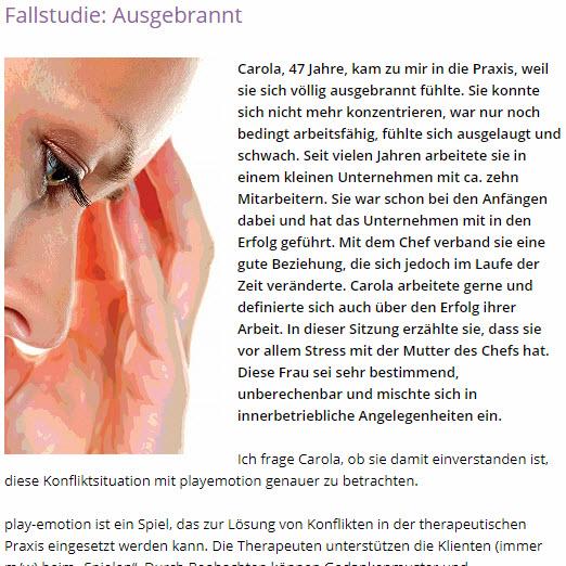 """play-emotion in der Zeitschrift """"Freie Psychotherapie"""" 04/17"""